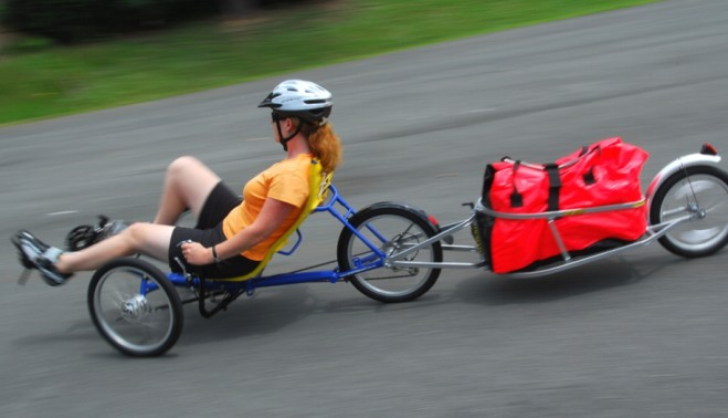 Почему мало используют лежачие велосипеды и трайки?