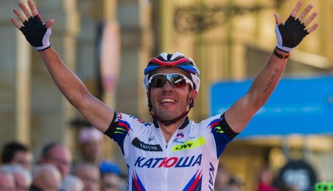 Хоаким Родригес занял третье место в гонке «Льеж-Бастонь-Льеж»