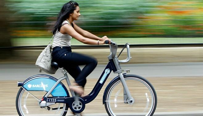 Система общественного велопроката в Лондоне